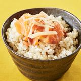 さわのはなの玄米混ぜご飯