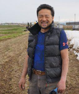 山形米作専業農家の板垣さん